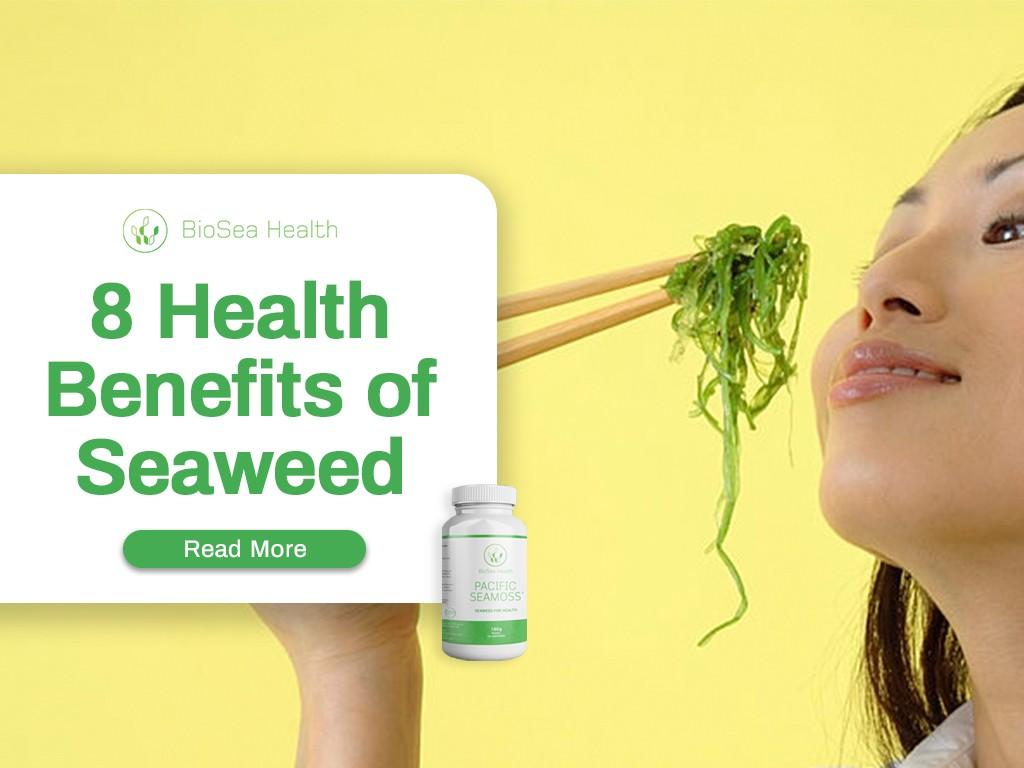 8 health benefits of seaweed eating Pacific Seamoss