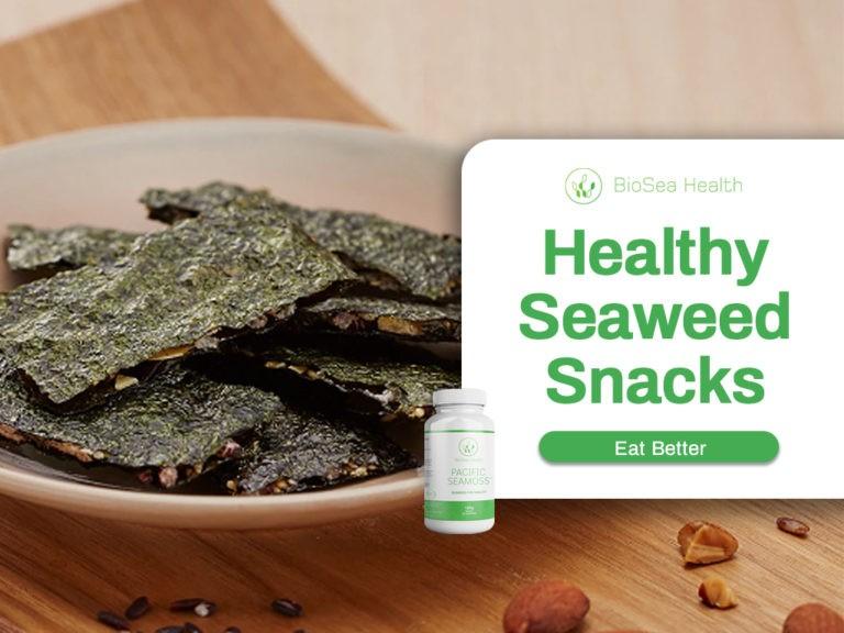 Healthy seaweed snacks